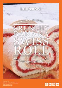 Banana Swiss Rolls