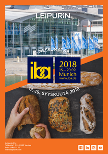 Kutsu IBA 2018 -messuille syyskuussa 2018