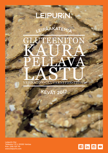Gluteeniton Kaura-pellavalastu