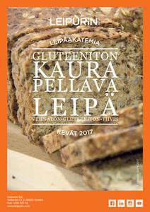 Gluteeniton Kaura-pellavaleipä