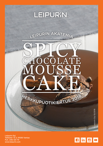 Spicy Chocolate Mousse Cake