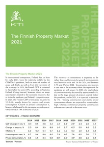 The Finnish Property Market 2021 flyer