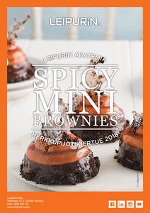Spicy Mini Brownies