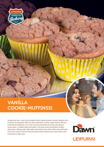 Vanilla Cookie-Muffinssi «Dawn»