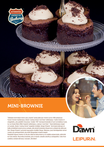 Mini-Brownie «Dawn»